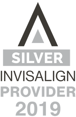 Silver Invisalign Provider 2019 Badge